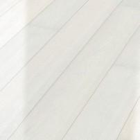Паркетная доска Meister Дуб Gloss Белый Полярный