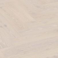 Паркетная доска Meister Дуб Herringbone Белый Выбеленный